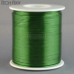 Magnet Wire 18 Gauge Awg Enameled Copper 200 Feet Coil Winding And Crafts Green