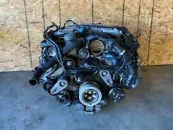 Engine Motor Supercharged For Parts Awd 3.0 Jaguar Xj Xjl Xf 13-15 Oem