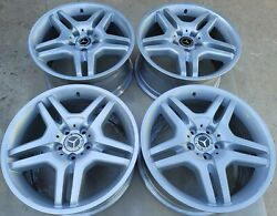 18 New Silver Oem Factory Original Mercedes Amg S55 S-class S500 S400 Wheels.