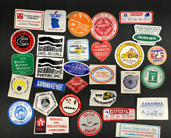 Coal Mining Mine Hard Hat Stickers Decals Lot Of 30 Local Wv Tools Shows Usa A2