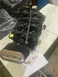 Mercruiser 496 Mag Ho Intake Manifold Throttle Body Fuel Rail And Injectors 8.1l