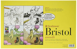 Strathmore 300 Series Bristol Paper, 11 X 17 Inches, 100 Lb, 24 Sheets