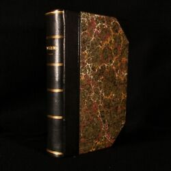 1851-3 3 Vol In 1 Sketches By Boz Dombey And Son Bleak House Charles Dickens