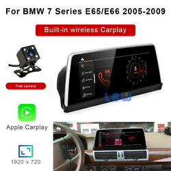 8-core Android Car Gps Stereo Video Player Wireless Carplay For Bmw 7 Series E65