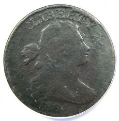 1804 Draped Bust Large Cent 1c S-266 Coin - Anacs F12 Details - Rare Key Date