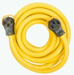 Arcon 11535 30-foot Generator Power Cord With Handle 50-amp