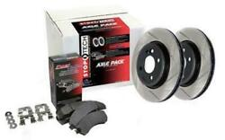 Stoptech Axle Pack - Street 934.33046 Front / Rear Fitsaudi 2010 - 2010 S4 F