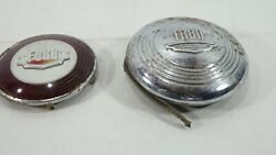 2 1940's Ford Cap, Horn Button, Light Cover -you Decide- 1940's To 50's Car Part