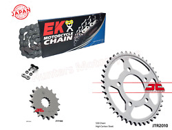 Triumph 900 Trophy Ek Japanese X-ring Chain And Jt Sprockets Kit Set 91 To 95