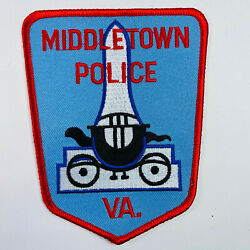 Middletown Police Frederick County Virginia Va Patch A4
