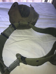 Us Military Nylon Lc2 Ind. Equipment Gear Belt L W Compass Pouch And Canteen Cover