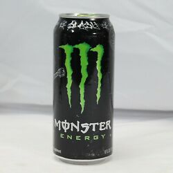 Monster Energy Drink Limited Edition Slash Full 16oz Collectors Can