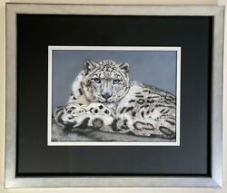 Original Painting By Artist Angela Taylor Andlsquoicy Gazeandrsquo A Truly Stunning Piece