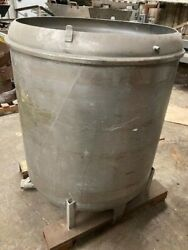 300 Gallon Stainless Steel Tank Bottom Outlet