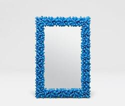 Accepting Best Offers Rare Large Estate Blue Plaster Coral Style Glass Mirror