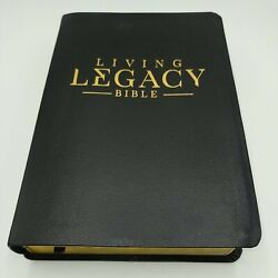 Signed By Rod Parsley Living Legacy Bible Mev Modern English Version Leather