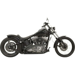 1sd1fb Exhaust Radial Sweepers Black Harley Fxdwg 1450 Dyna Wide Glide 2000