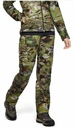 Under Armour 1316698-940 Womens Brow Tine Hunting Pants Camo Size 4 150 New