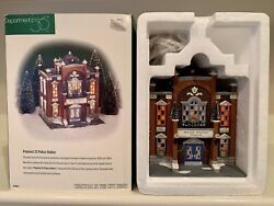 Dept 56 Christmas In The City Lighted Series Precinct 25 Police Station 58941