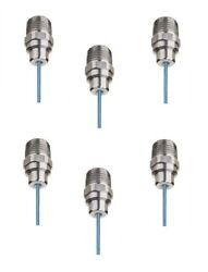 Pack Of 6 - Teejet Stream-jet Solid Stream Ss Nozzle Spray Tip 1.5 Gpm @ 40 Psi
