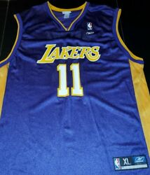 Los Angeles Lakers, Nba Basketball Mens Jersey Xl 34x25 Inches, Malone