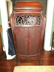 Antique Sonora Invincible Phonograph Victrola Cabinet Only Nice