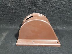65224-02 Flap Handle Cover Brown From 1965 Piper Cherokee Pa-28-180