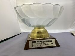 Grand Prize Of Uruguay Championship 2004 1st Place Trophy Tour Car Catagory 154