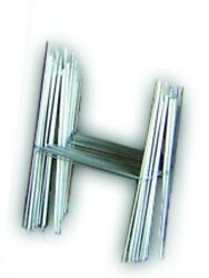 100 H 10x15 Wire Step Stakes Holder Yard Sign Wire Stands Metal Frame Election