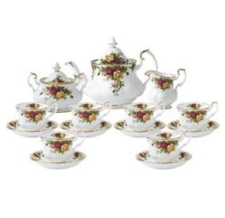 Royal Albert Old Country Roses Complete Tea Set 15pce Rrp1349.00