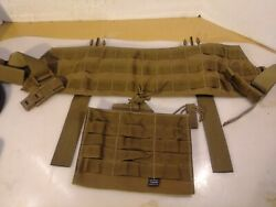 Tactical Tailor Split Harness Mav With Triple Mag Panel Pouch Fde Tan Vfine Fs