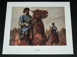 Don Stivers - Stonewall - Publisher Proof - Collectible Civil War Print - Mint