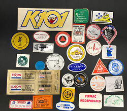 Vtg Coal Mining Mine Hard Hat Trucking 1980s Stickers Decals Lot Of 30 Wv Usa A3
