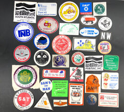 Vtg Lot 30 Coal Mining Mine Hard Hat Trucking Stickers Decals Wv Tools Usa A1
