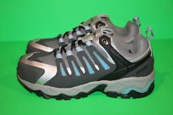Hytest Womenand039s Athletic Steel Toes Slip Safety Work Shoes Size 6 - New