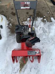 Snapper Snowblower 2 Stage Snow Blower 22andrdquo 5 Hp