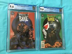 Batmanvengeance Of Bane Special 1 And Vengeance Of Bane Ii Both 9.6 Cgc Lot Of 2