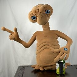 Vintage 80's X-large E.t. The Extra Terrestrial 24 Toys R Us Talks And Lights-up