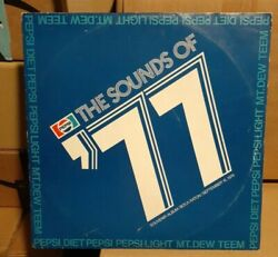 Rare Pepsi Cola The Sounds Of 77 Special Convention Radio Commercials Record