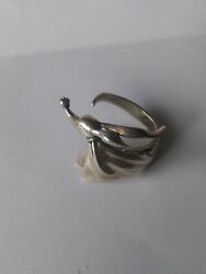 Vintage Nightmare Before Christmas Zero Dog Sz 7 Silver Ring Collectible