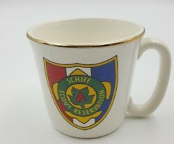 Vintage Bsa Boy Scouts Coffee Mug Schiff Scout Reservation