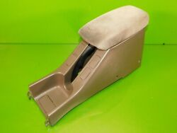 94-01 Integra Oem Center Console Armrest Storage Compartment Assembly Tan