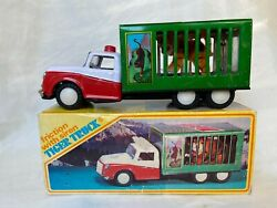 Mf No. 239 Tiger Truck China Battery Tin Toy Blechspielzeug Boxed