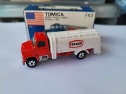 Tomica F62 - Ford Lorry Truck Texaco [red] Absolutely Mint Vhtf Japan