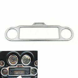Stereo Accent Trim Ring Cover Fit Ultra Classic Touring Flhx Flht Chro Un
