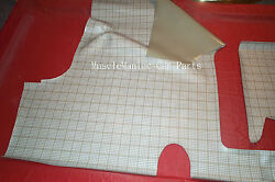 1955-1956 Ford Coupe Conv. Rubber Trunk Mat Plaid 55-56