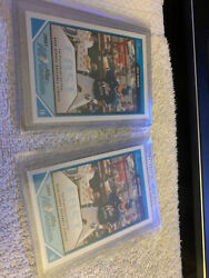 Eric Hosmer 2007 Bowman Aflac All American Promo Aflac-eh Pre Rookie Lot X2