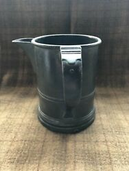 19th Century Pewter Side Pour Can Mug Tankard 54