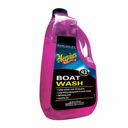 Meguiar's M43 Marine/rv Boat Wash - Marine Wash To Clean And Brighten Your Boat'