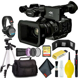 Panasonic Ag-ux180 4k Premium Professional Camcorder With Carry Case
